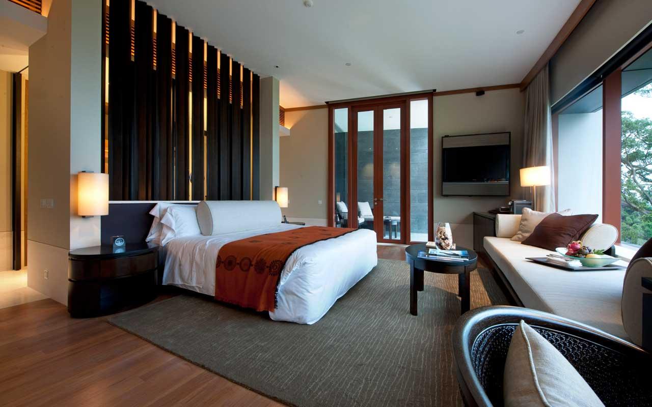 客房大部分位於新翼,是由印尼著名的室内设计师 jaya ibrahim 负责图片