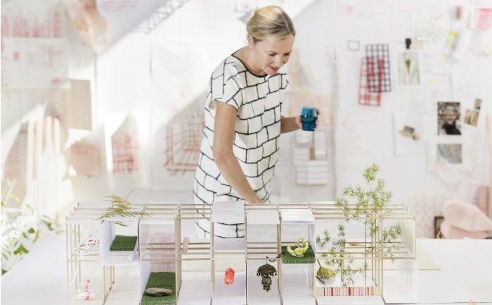【2014 科隆家具展】丹麦设计师 louise campbell 操刀「das haus」
