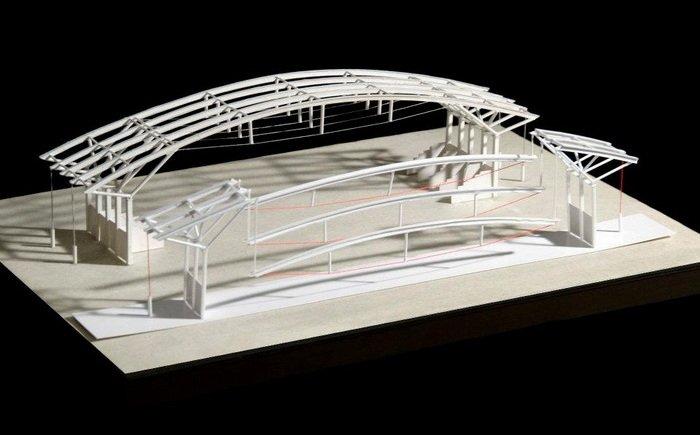 建筑结构模型图片_dna双螺旋结构模型