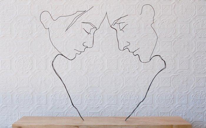 立体雕塑简单手绘
