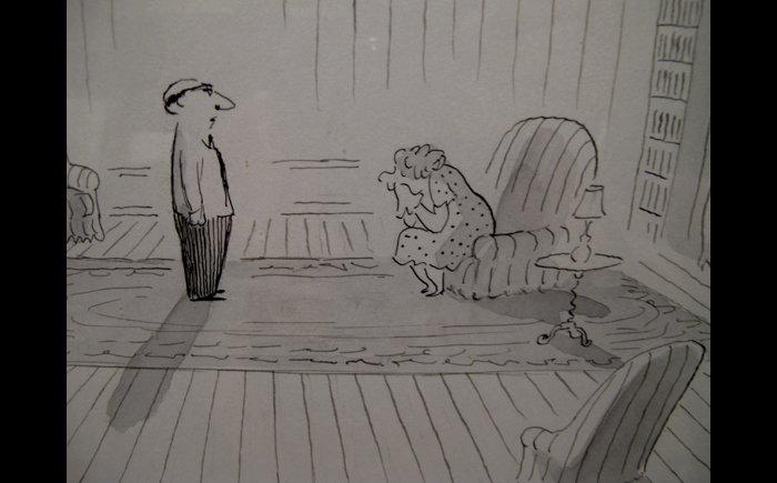 铅笔手绘图片伤感人物